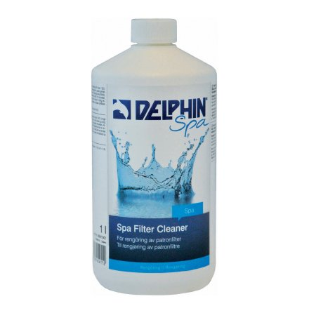 Spa Filter Cleaner, 1 liter - Delphin Spa
