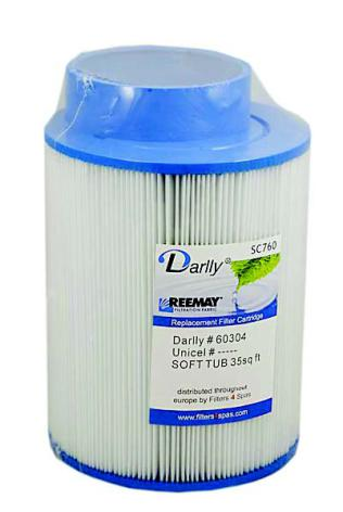 Spafilter Darlly SC760
