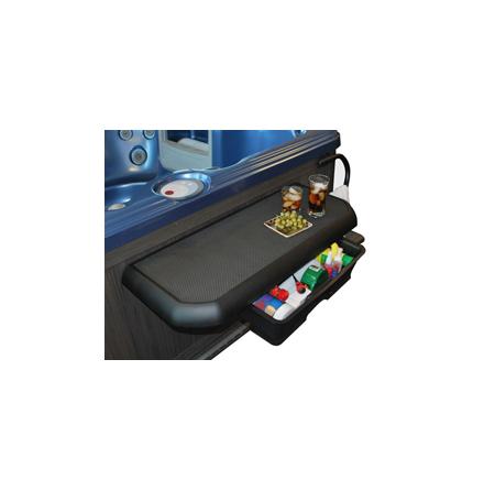 Spabord, avlastningsbord för spabad
